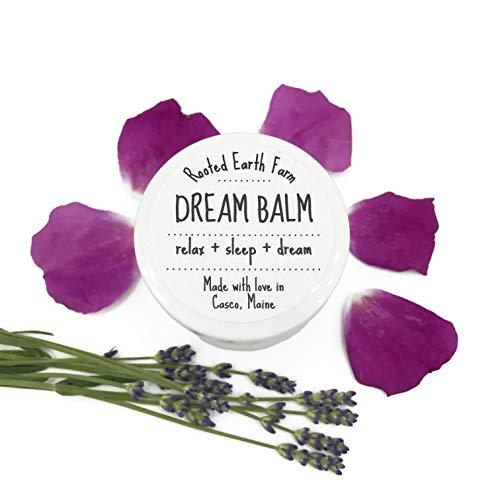 Dream Balm 1 oz, Organic Herbal Sleep Salve, Herbs for Relaxation, Dry Skin Moisturizer, Sweet Dreams