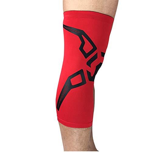 LYLTJ68 Rodillera Brace Silicone Sport Rodilleras Manga para Leggings para Jugar al fútbol al Aire Libre Ejecución de Baloncesto