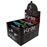 Kintex 6 Rollen Kinesiologie-Tape mit Aufsteller, gemischt, 30m, Physio-Tape, Therapie-Tape, elastisch, wasserfest