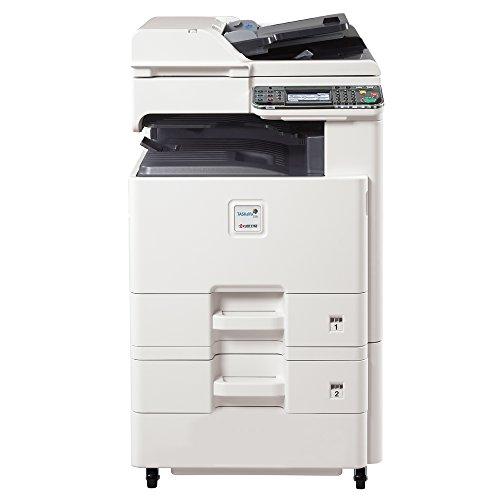 Kyocera TASKalfa 255c Tabloid-Size Color Laser Multifunction Copier - 25ppm, Printer, Copier, Scanner, Auto Duplex, Network, 11x17