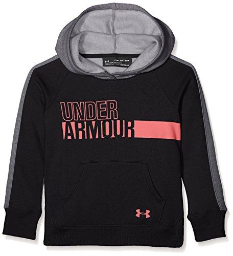 UNDAS|#Under Armour Under Armour Mädchen Favorite Fleece Hoody Oberteil, Black, YXS