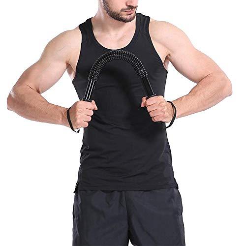 Barres de Traction Équipement de Fitness, Flexible avec poignées Extenseur de Bras de Poitrine Pratique de la Puissance de la Tige, mâle pour Homme(50kg)