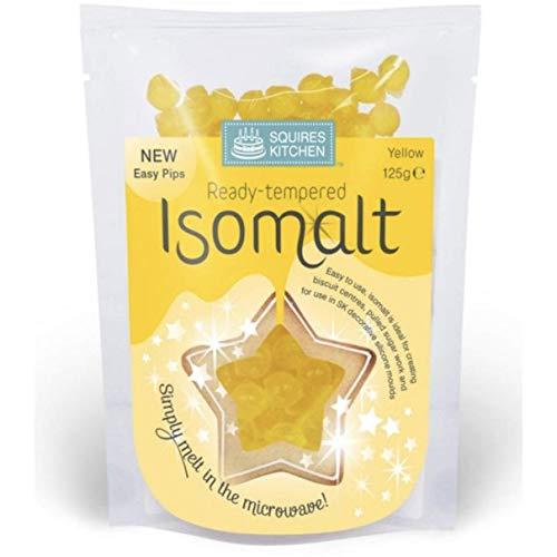 SQUIRES TEMPERED ISOMALT [Yellow (125g)]