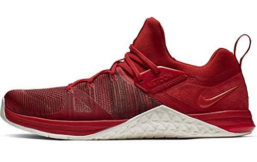 Nike Herren Metcon Flyknit 3 Fitnessschuhe, Mehrfarbig (Mystic Red/Sail/Red Orbit 000), 42.5 EU