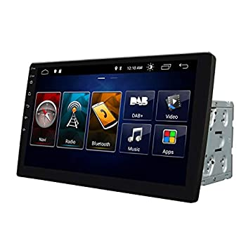 2021 Newest Double Din Car Stereo,Android 10 Radio with Bluetooth 4.0,Built-in DSP Eonon 10.1 Inch Car Radio with IPS Screen Car Stereo Support WiFi/Fast Boot/Backup Camera NO DVD/CD -GA2187