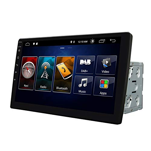 2021 Double Din Car Stereo,Android 10 Radio with Bluetooth 4.0,Built-in DSP, Eonon 10.1 Inch Car Radio with IPS Screen Car Stereo Support WiFi/Fast Boot/Backup Camera(NO DVD/CD)-GA2187