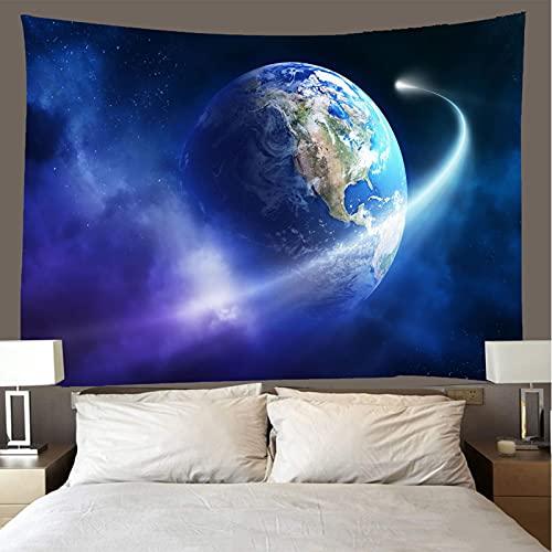 binghongcha 3D Tapestry Sky Planet A2135 Mandalatapestries Yoga Mat Beach Towel Blanket,Picnic Beach Sheet, Table Cloth, Boho,Decorative Wall Hanging 130(H) X150(W) Cm