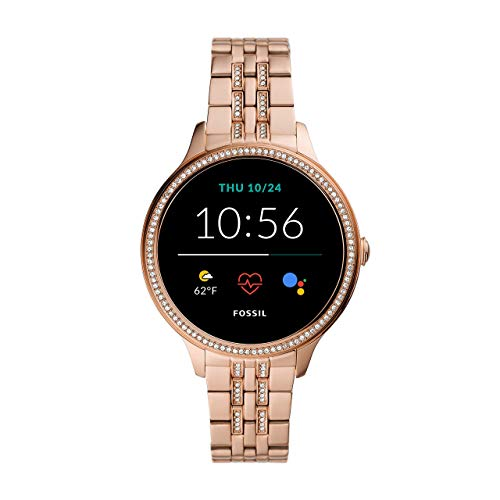 Fossil Smartwatch Gen 5e Connected da Donna con Wear OS by Google, Frequenza Cardiaca, Notifiche per Smartphone e NFC