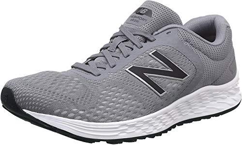 New Balance Mens Arishi V2 Fresh Foam Running Shoe Grey Grey Silver 7 UK