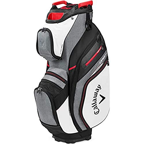Callaway Org 14 2020 Bolsa Carrito Golf Adultos unisex, BLANCO/GRIS/NEGRO/ROJO, UNICA