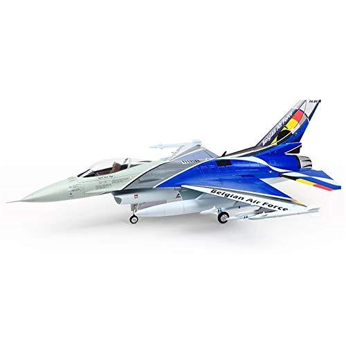 Xiaolizi Aeroplano de Control Remoto, Nuevo Pintura RC Avión Modelo Kits V2 F-16 Turbina de Espuma RC Airplane Jet PNP Turbojet Fighter para Adultos