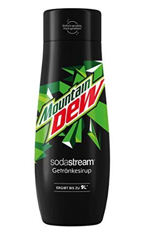 SodaStream Sirup Mountain Dew - 1x Flasche ergibt 9 Liter Fertiggetränk, Sekundenschnell zubereitet und immer frisch, 440 ml