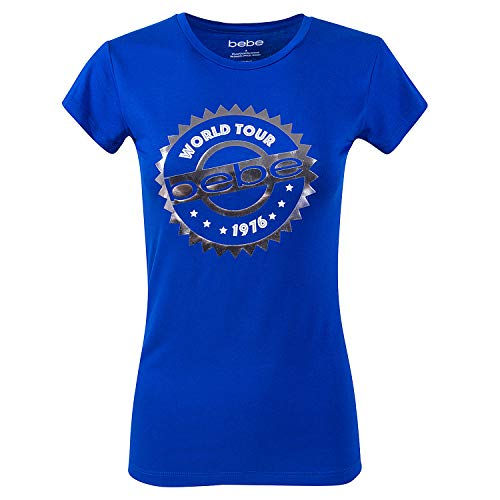 Womens Summer Tops by BeBe - T Shirts for Women Cute Tops Graphic Tees