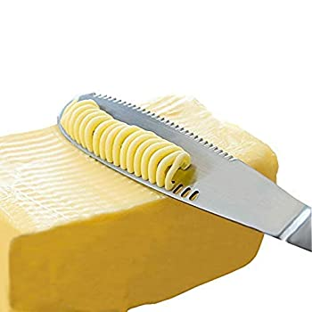 Stainless Steel Butter Spreader Knife - 3 in 1 Kitchen Gadgets  1