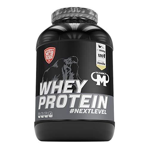Mammut Nutrition Whey Protein Vanilla, 3 kg