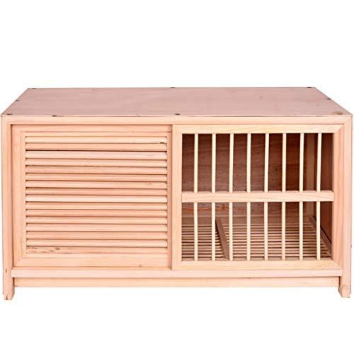 YHRJ Jaula para ninfas Jaula de emparejamiento de Palomas ecológica,Jaula de pájaros para Mascotas casera Puerta de Valla Push-Pull,Accesorios de Hardware, Fácil de Instalar