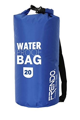 FRENDO BAG20 - Borsa Impermeabile 20 L, Blu
