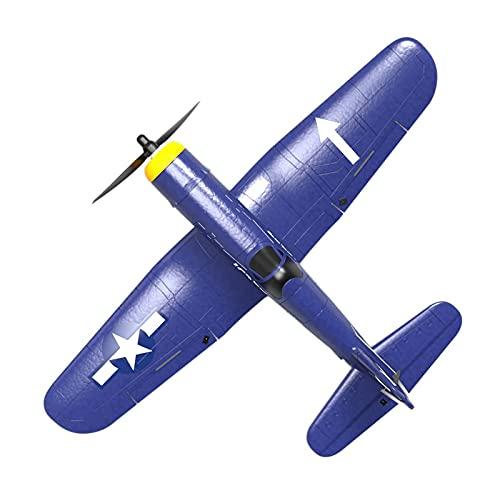 SRR F4U Corsair 400Mm Telecomando per Aereo ad Ala Fissa Controllo a 4 canali con alettoni acrobatici a Una Chiave Completamente assemblati, aliante per velivoli RC, Aereo RC