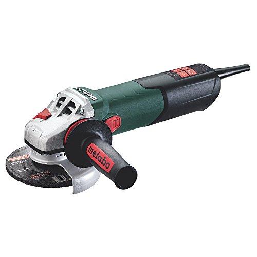 Metabo 600468000 Winkelschleifer WEV 15-125 Quick Scheiben-Ø: 125 mm, 1550 W, materialgerechte Drehzahlanpassung, Werkzeug-Schnellwechsel-Funktion