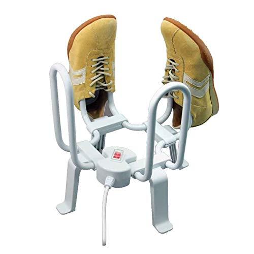 Schuhtrockner, Elektrisch Stiefeltrockner Fußwärmer Entfeuchtung Deodora,Shoes Dryer, Schuhwärmer,nzug für Alle Schuhe Deodorant Entfeuchtung,Weiß