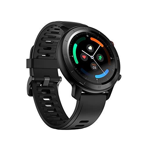 Ticwatch GTX Fitness-Smartwatch für Damen und Herren, mit 10 Tagen Akkulaufzeit, IP68-Schutzklasse, Herzfrequenzüberwachung, Schlaf-Tracking, kompatibel mit iPhones und Android-Mobiltelefonen.
