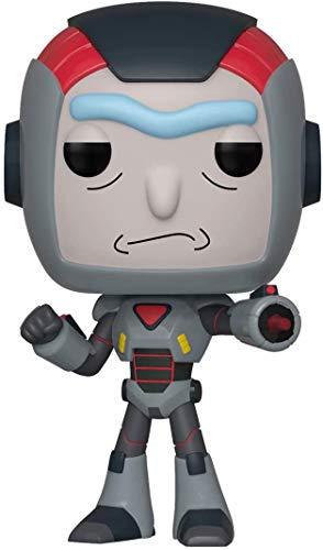 Funko Figuras Pop! Vinilo: Animación: Rick & Morty – Lote de 2 (1 Rick in Mech + 1 Morty), multicolor estándar, etc.