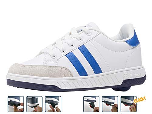 Breezy Rollers 2176230, Rollschuh, Schuhe mit Rollen, 2-in-1 Kinderschuhe, Skateboardschuhe, Sneakers (Numeric_32)