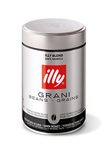 illy Espresso ganze Bohne, intenso, vollmundig- aromatisch 250g