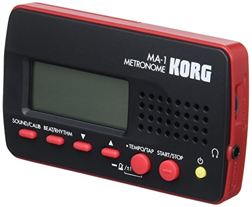 Korg MA1RD Visual Beat Counting Metronome - Red