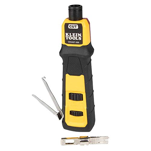 Klein Tools VDV427-300 Punchdown Kits, Yellow and Black