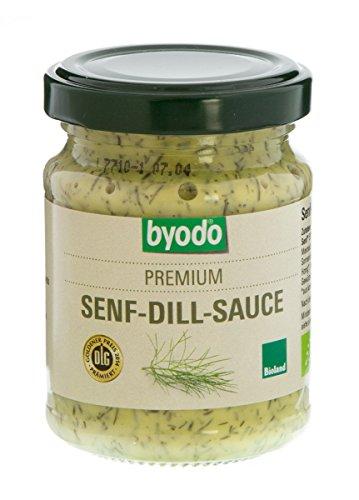Byodo Senf-Dill-Sauce (125 ml) - Bio