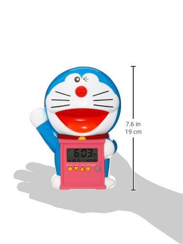 セイコークロック『目覚まし時計ドラえもん(JF374A)』