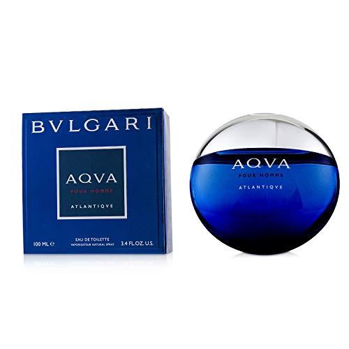 BVLGARI Aqva Atlantiqve Eau de Toilette Spray, 3.3 Ounce, Multi