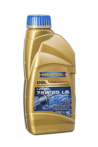 RAVENOL DGL SAE 75W-85/75W85 GL5 LS Vollsynthetisches Getriebeöl (1 Liter)