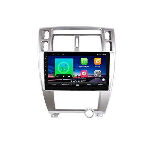 Android 10,0 Reproductor Multimedia de DVD para Coche GPS para Hyundai Tucson 2006 2007 2008 2009 2010 navegación estéreo de Radio de Coche de Audio