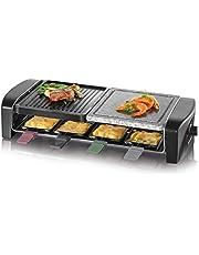 Raclette grill imprezowy z naturalnym kamieniem do grillowania RG 9645