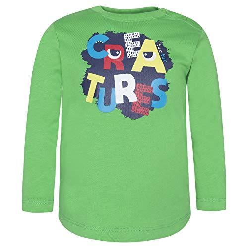 Tuc Tuc Camiseta Punto Sencilla NIÑO Manga Larga, Verde (Verde 6), 74 (Tamaño del Fabricante:9M) para Bebés