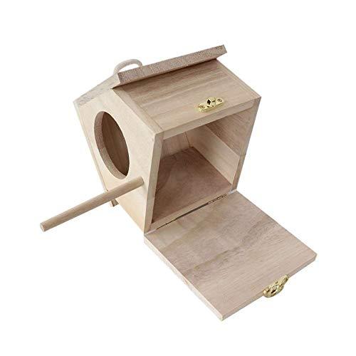 Raybre Art® Mini DIY Holzvogelhäuser Vogelhaus für Dekoration Basteln für Kinder Erwachsene
