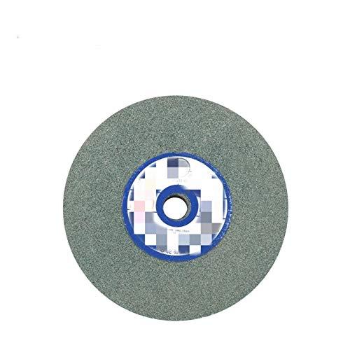 LiQinKeJi8 Muela 150mmx12.7x16mm de molienda de cermica Disco Resistente al Disco abrasivo de Pulido de Pulido de Metal Rueda de Piedra para Molinos de Banco 80# para pulir (Color : Green)