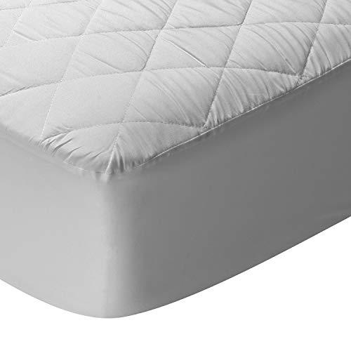 Pikolin Home - Pack 2 Protectores de colchón Acolchado de Fibra, Tratamiento antiácaros y Membrana SmartSeal Impermeable y Transpirable