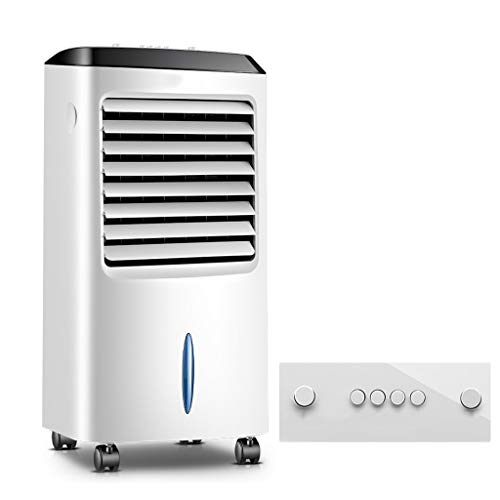 GYF 3-en-1 Multifuncional Climatizador Evaporativo Ventilador,Bajo Consumo Enfriador Evaporativo (Color : White, Size : B)