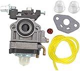 SYCEZHIJIA Piezas de Repuesto para cortacésped Carburador para Mac Allister Macallister MBCP254 MGTP254 MCBP254 123054025/1 Línea de Combustible de carburador Primer Toter