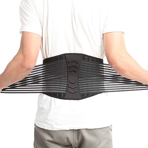 CFR Faja Lumbar, Faja Reductora Elástica para Moldear tu Figura, Apoyo Lumbar,Ideal para Gym, Ejercicio y Entrenamiento Cardio, para Hombres y Mujeres