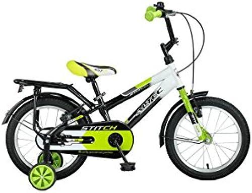 Hoopfietsen 16 Zoll Jungen Fahrrad Stitch