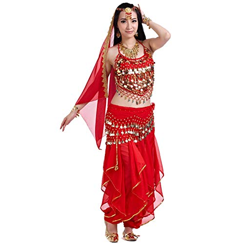 FF Arabische dans jurk buik danspak Indiase dans praktijk kleding nationale dans performance pak