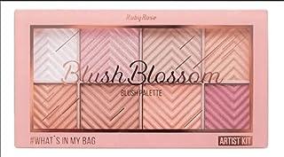Paleta Blush Blosson Ruby Rose - 8 Cores