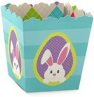 Hippity Hoppity - Party Mini Favor Boxes - Easter Bunny Party Treat Candy Boxes - Set of 12
