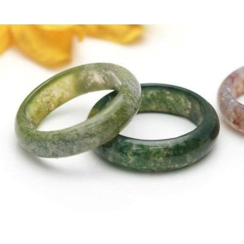 ブラッドストーン くり抜き リング 指輪 守護 の石 (15)