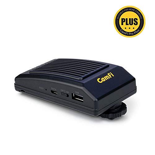 CamFi Pro Plus Herramientas de Disparo con Cable inalámbrico Cámara DSLR Control Remoto Transmisión de Captura para Canon Nikon Sony Fujifilm Pentax (Transmisión de Alta Velocidad, Vista en Vivo)