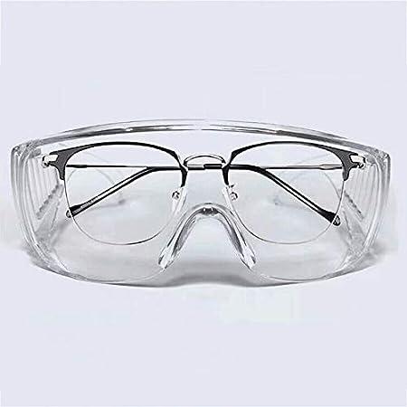 Fancheng Show - Gafas protectoras de seguridad, antivaho y químicas industriales, para exteriores, laboratorio, personal o profesional.